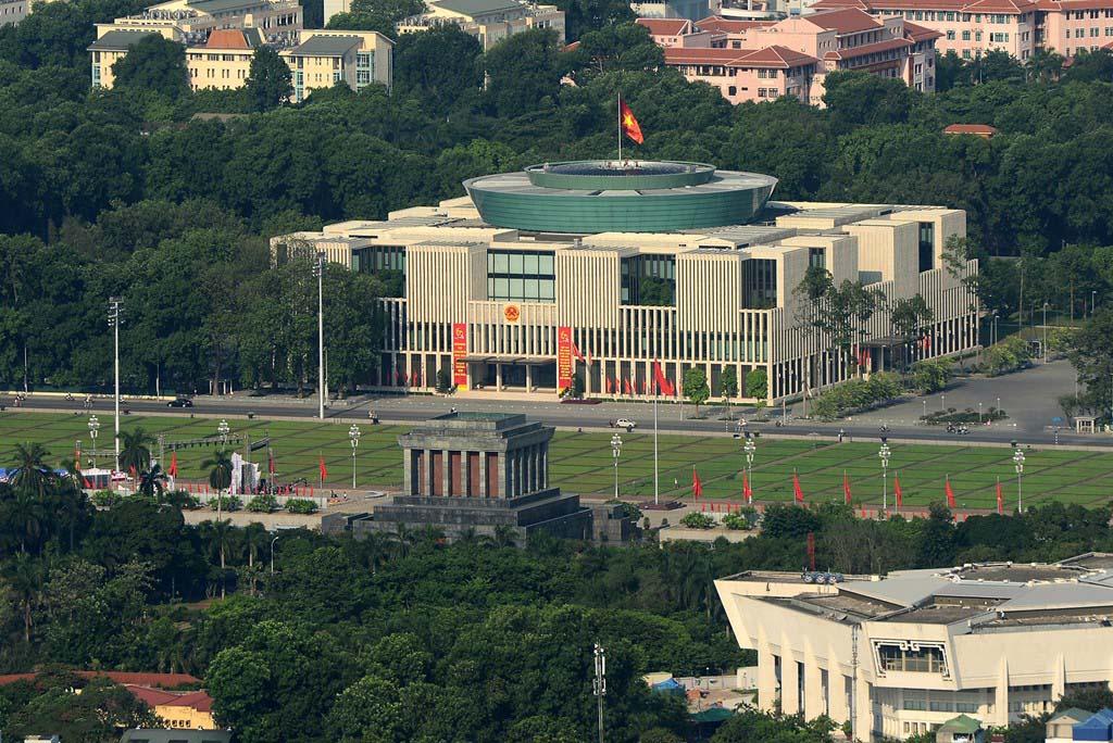Hình ảnh đẹp tòa nhà quốc hội ở Hà Nội