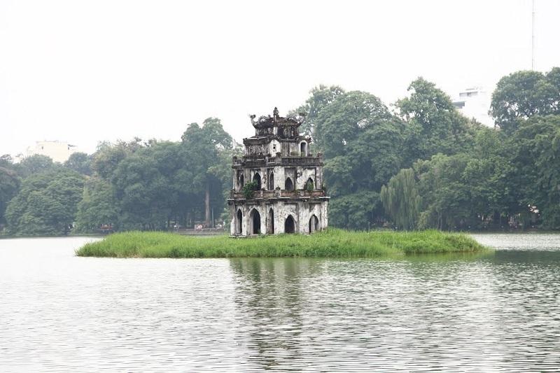 Hình ảnh đẹp về Hà Nội-Tháp rùa