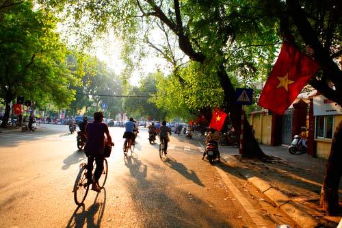 Hình ảnh Hà Nội ngày nắng