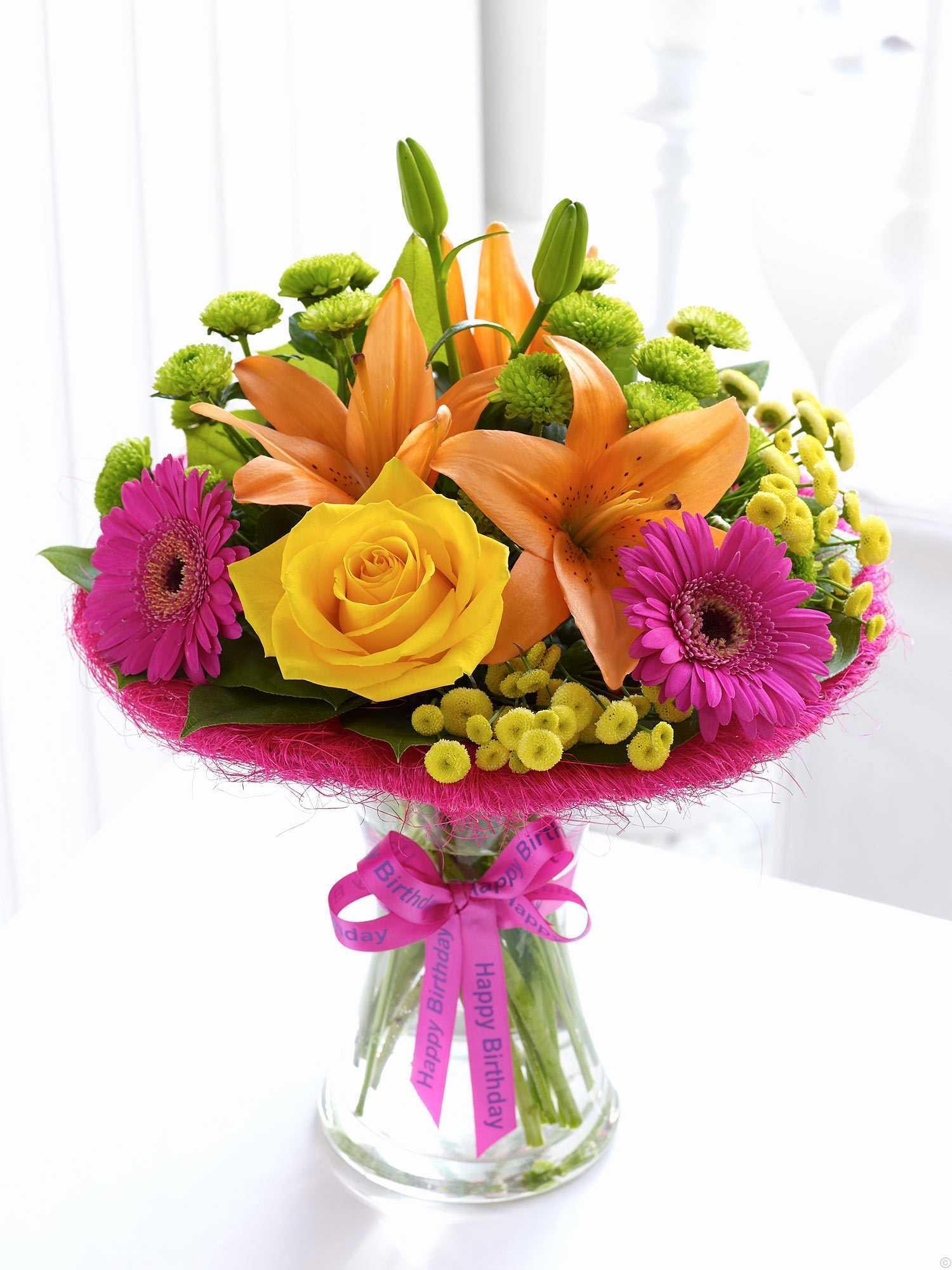 Hình ảnh hoa sinh nhật đẹp