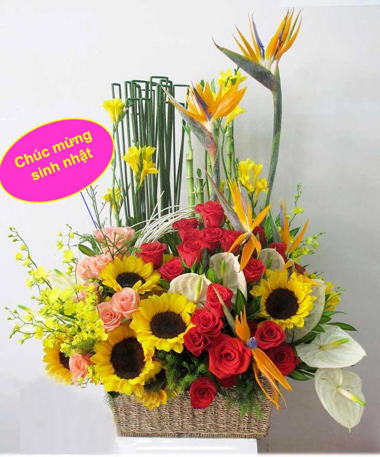 Hình ảnh hoa sinh nhật độc đáo