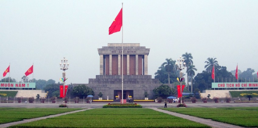 Hình ảnh lăng bác Hồ ở Hà Nội