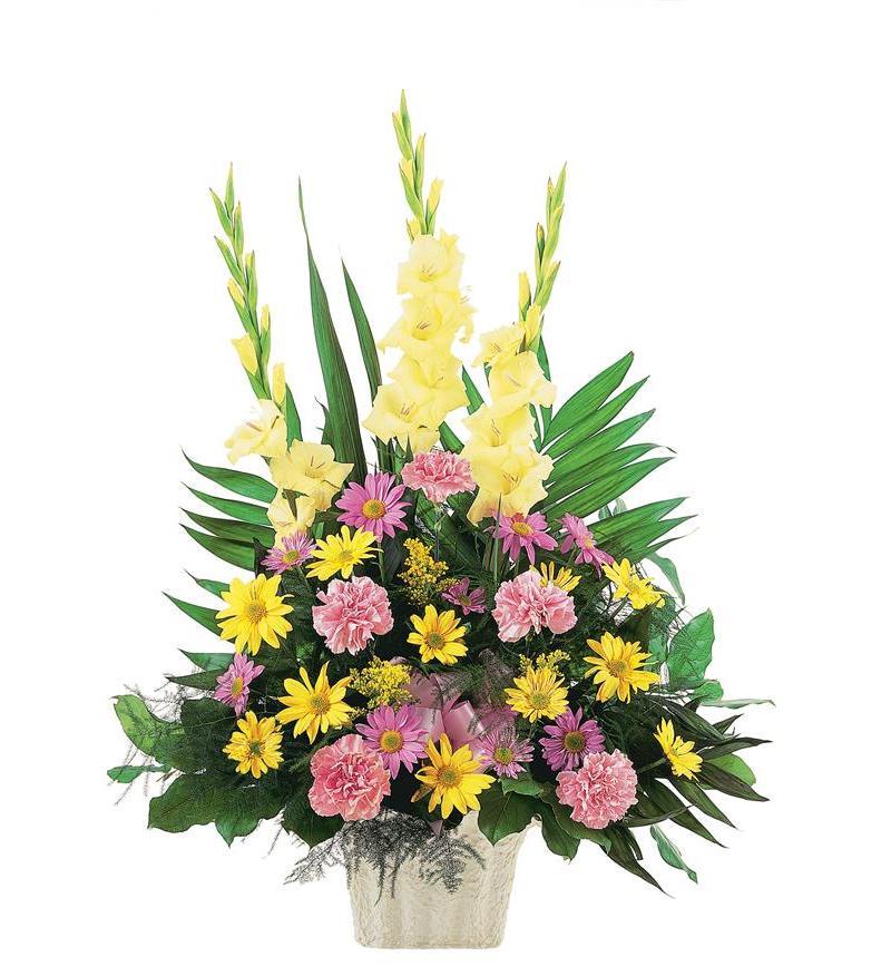 Hình ảnh lẵng hoa sinh nhật đẹp (2)
