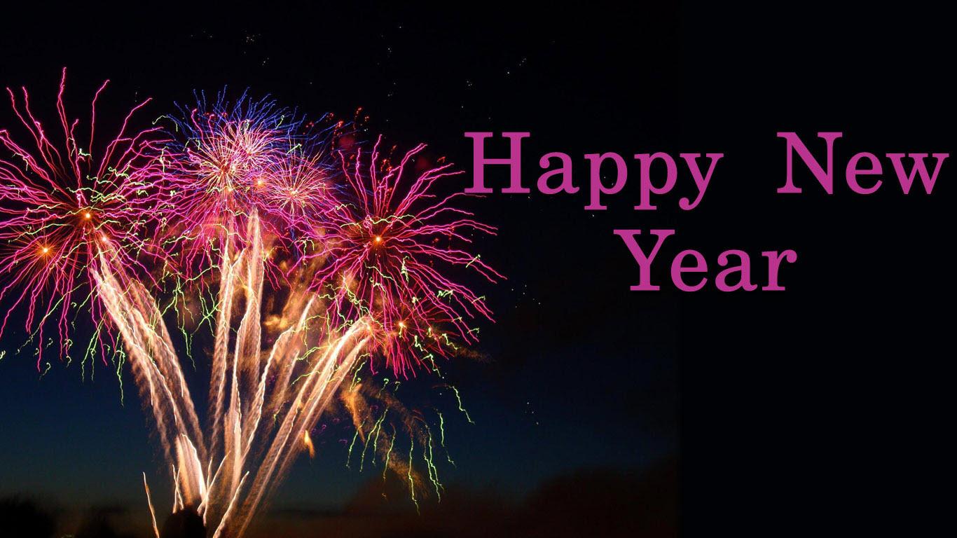 Hình ảnh pháo hoa chúc mừng năm mới đẹp