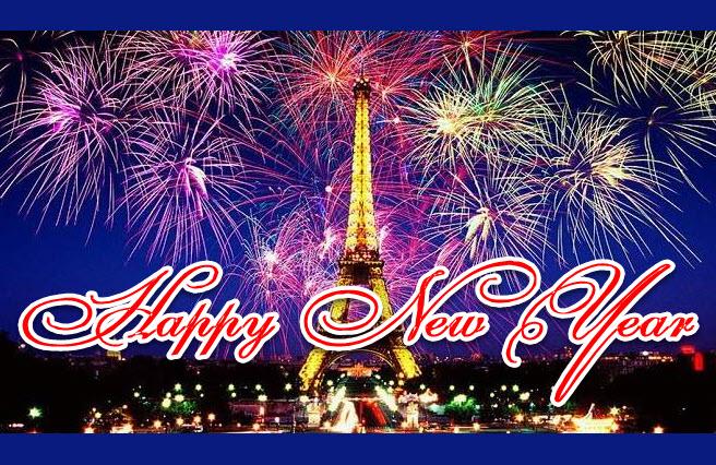 Hình ảnh pháo hoa đón chào năm mới