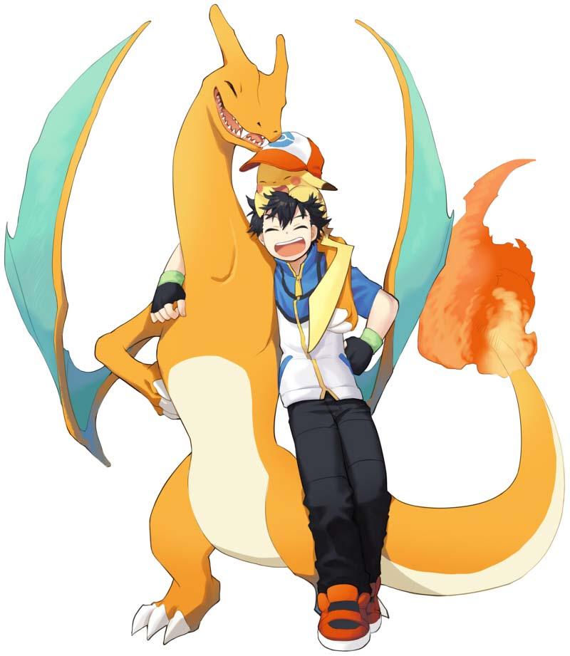 Hình ảnh pokemon của satoshi đẹp nhất