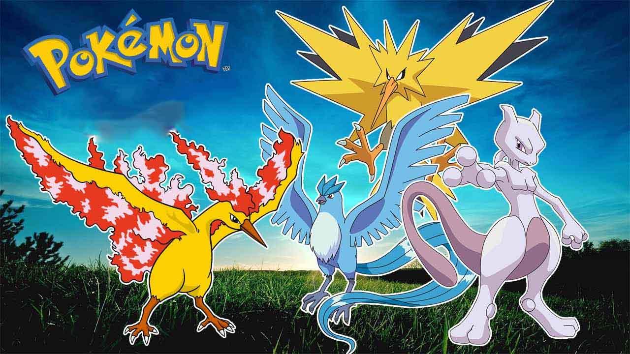 Hình ảnh pokemon huyền thoại đẹp nhất