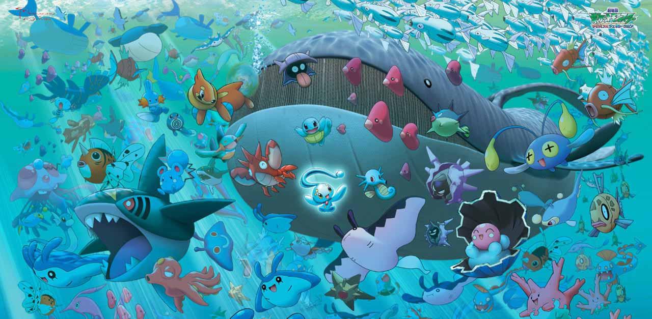 Hình ảnh pokemon nước