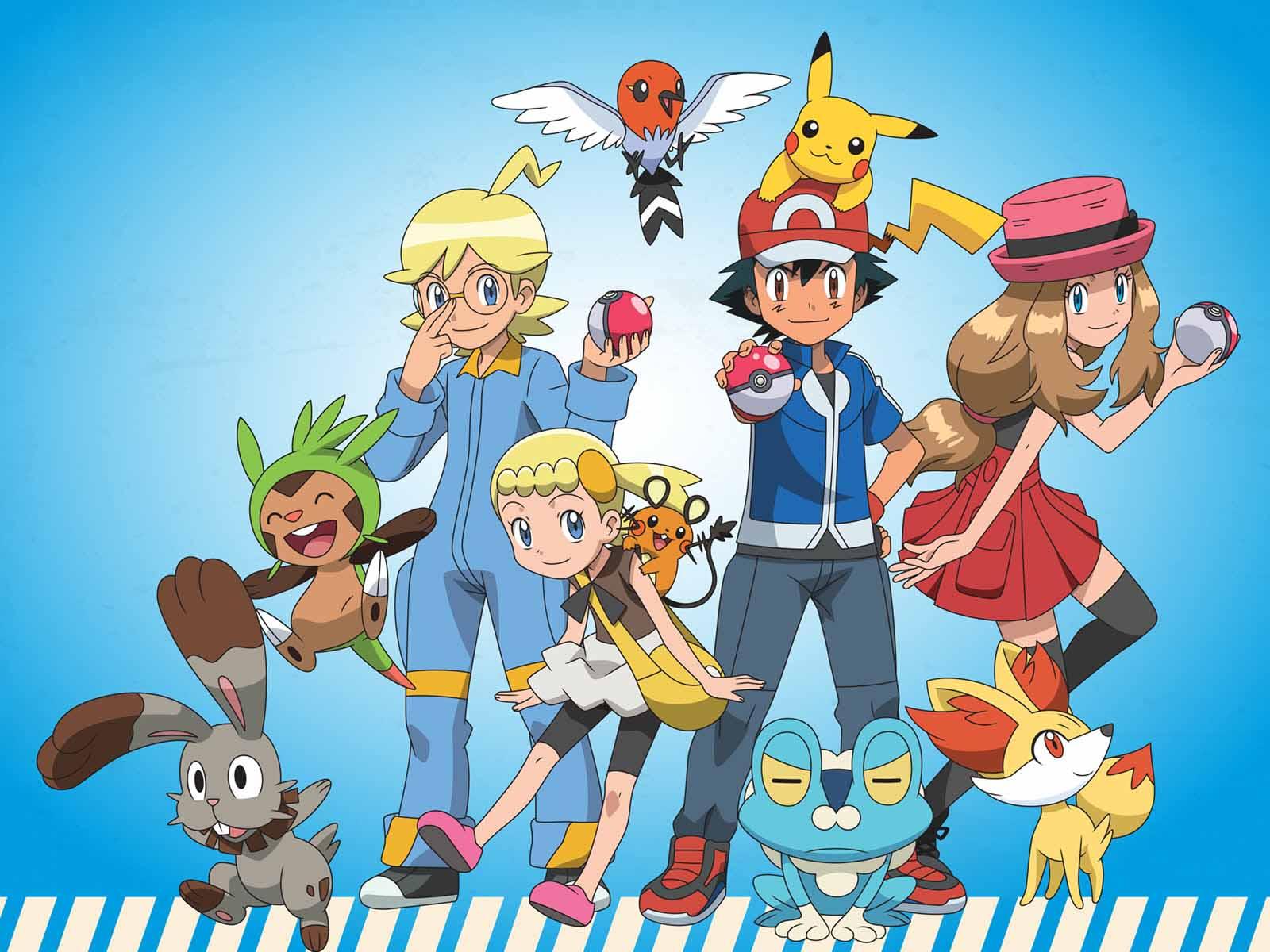 Hình ảnh pokemon satoshi dễ thương