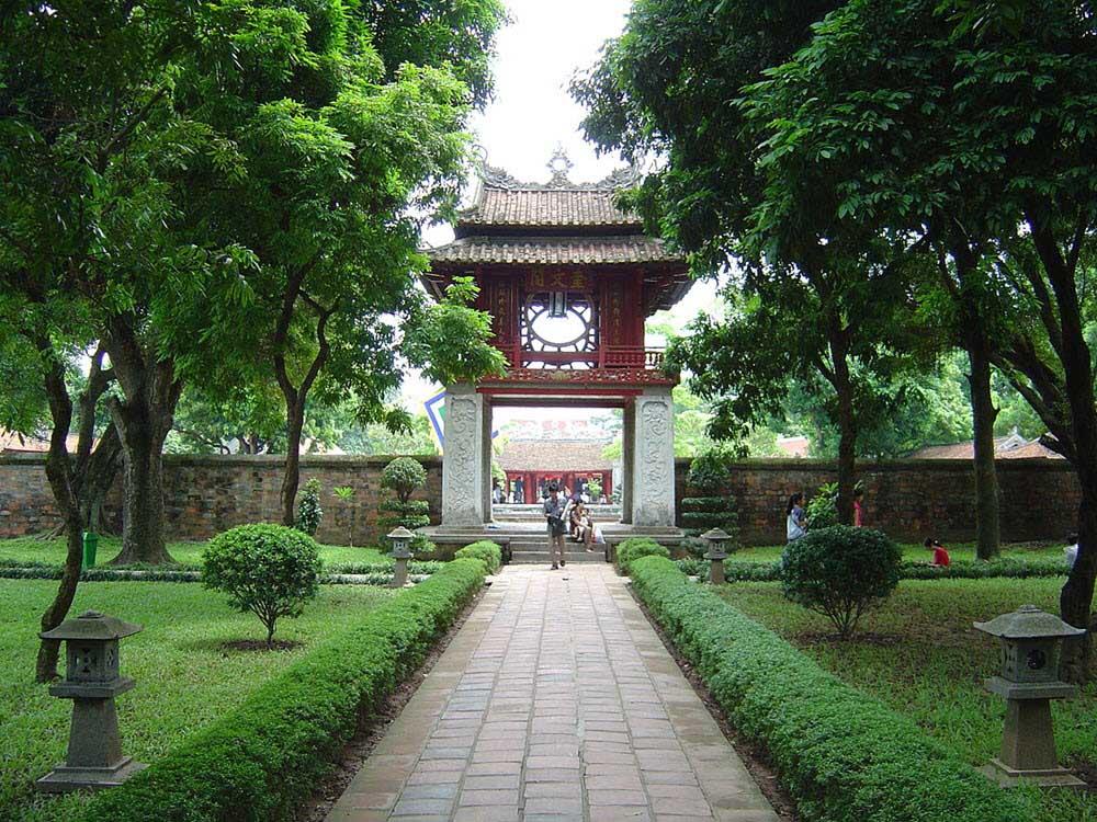 Hình ảnh Văn Miếu đẹp ở Hà Nội