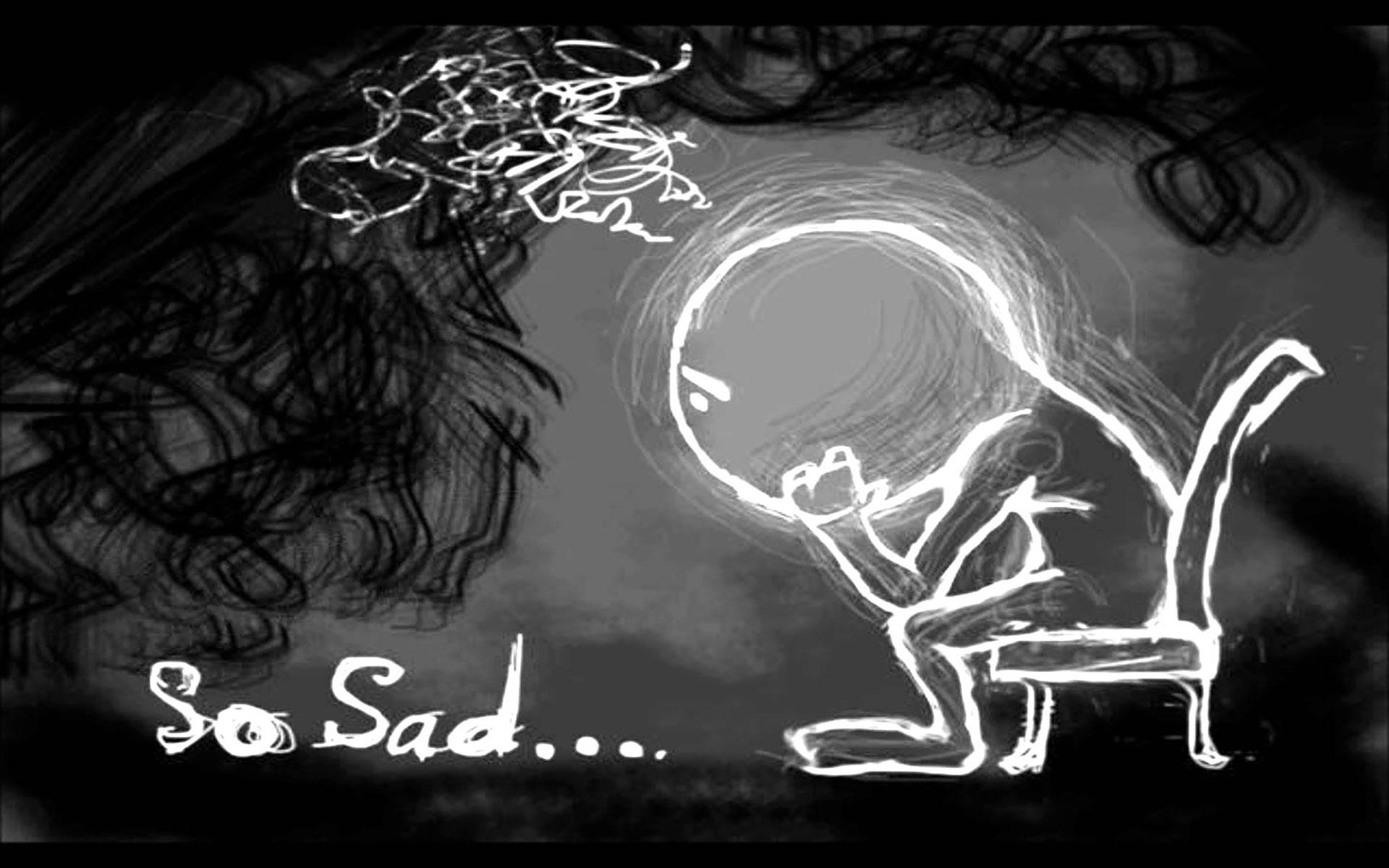 Hình nền chữ buồn