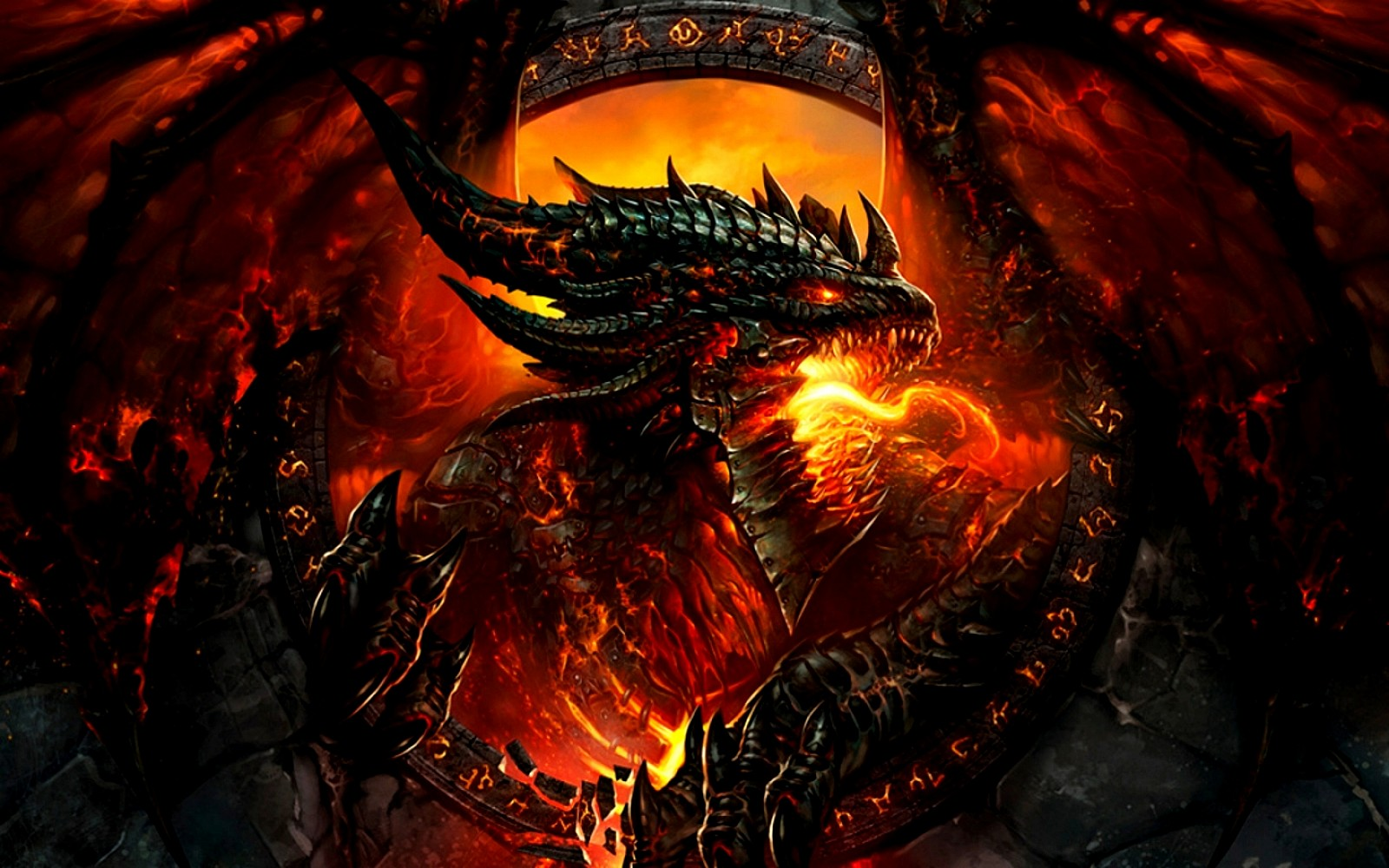 Hình ảnh rồng lửa cực đẹp