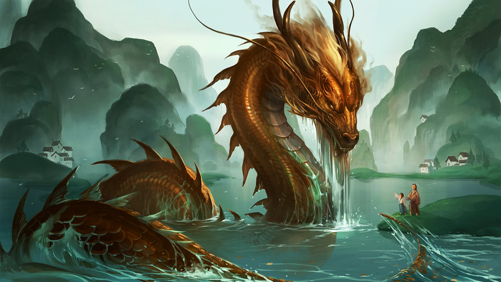 Hình ảnh về con rồng