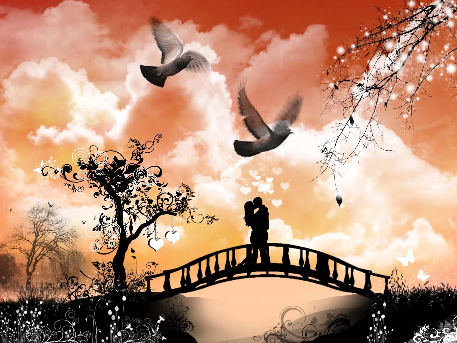 Hình nền tình yêu đẹp và lãng mạn