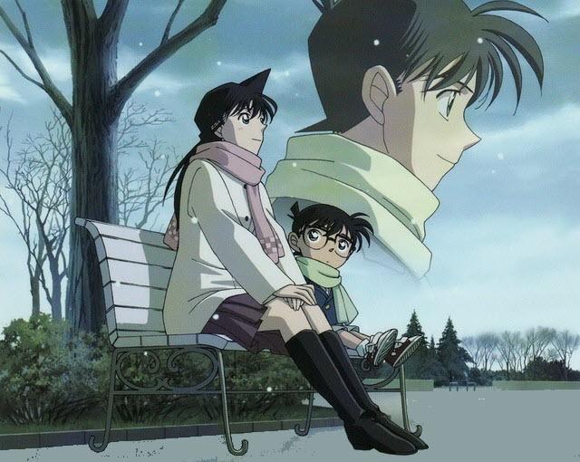 Ảnh Conan và Ran đẹp
