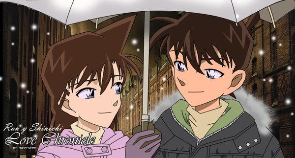 Hình ảnh Conan và Ran (2)
