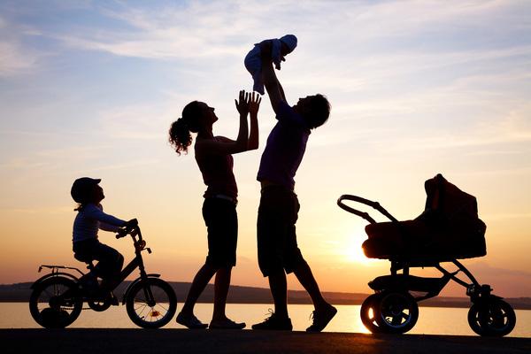 Ảnh đẹp về gia đình vui vẻ