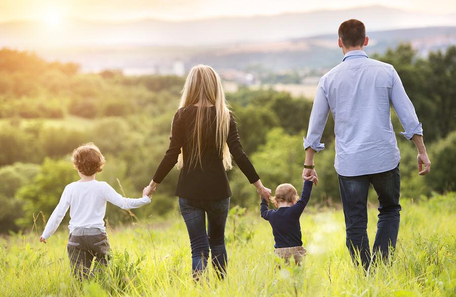 Hình ảnh đẹp nhất về gia đình