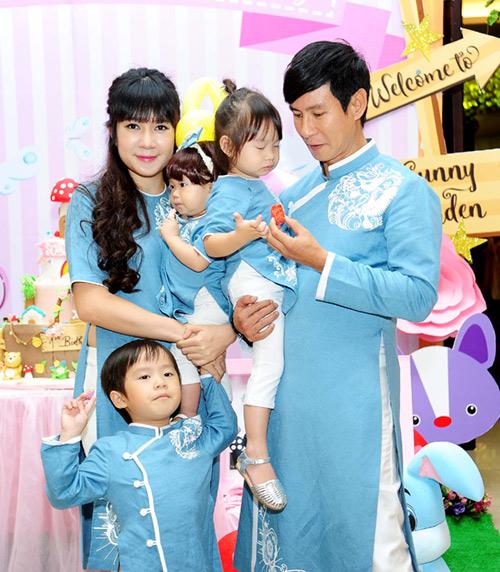 Hình ảnh gia đình Lý Hải