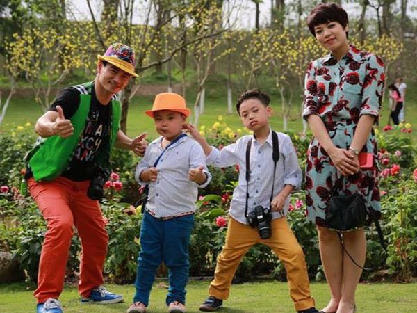 Hình ảnh gia đình Xuân Bắc