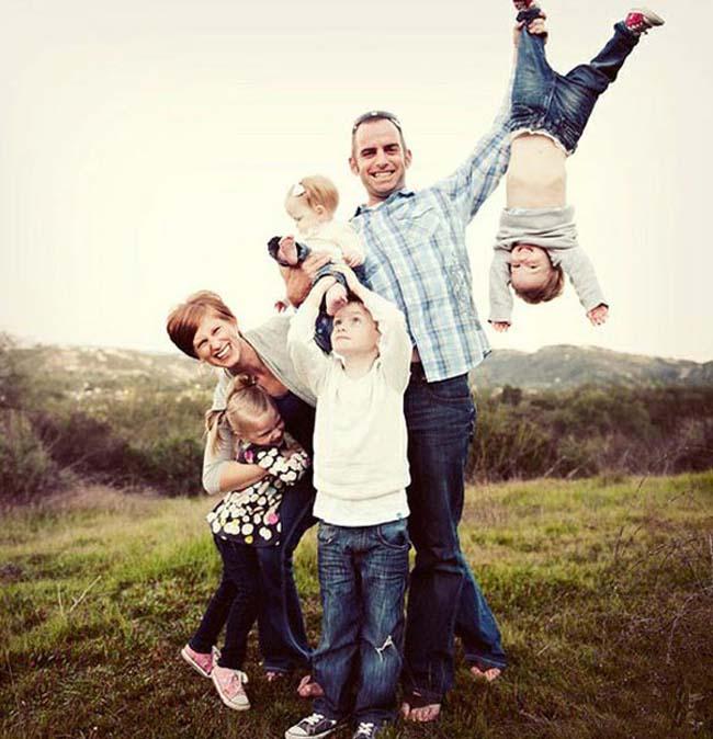 Hình ảnh hài hước về gia đình