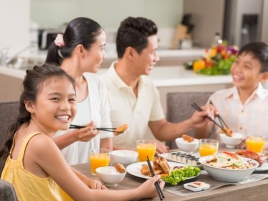 Hình ảnh mâm cơm gia đình