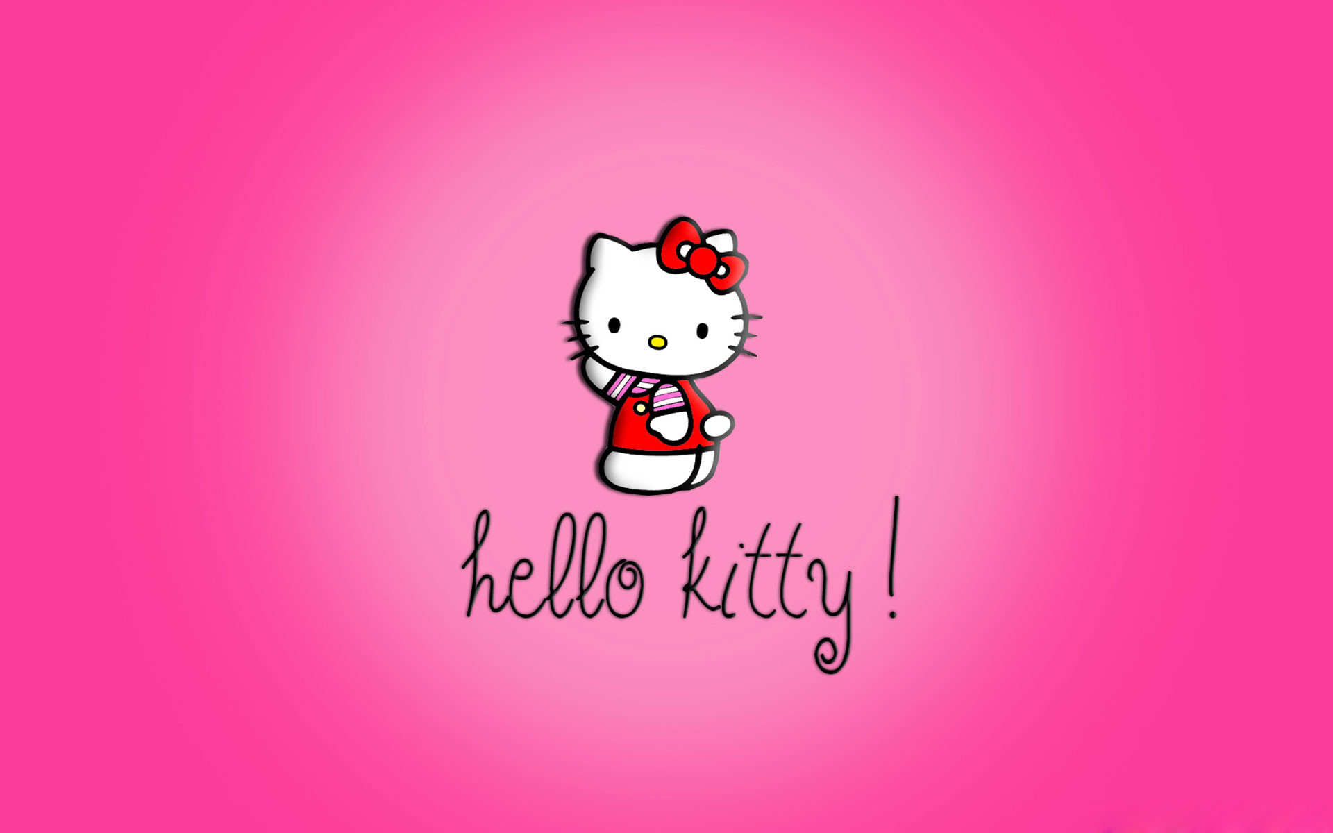 Hình ảnh nền kitty màu hồng dễ thương