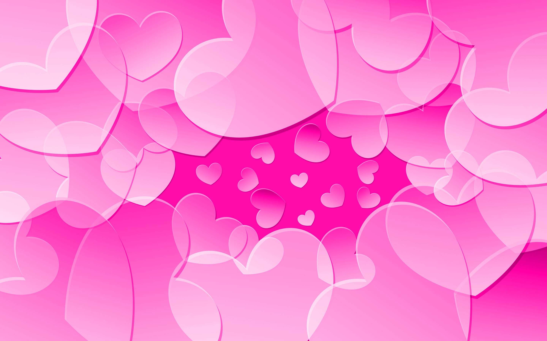 Hình ảnh nền trái tim màu hồng