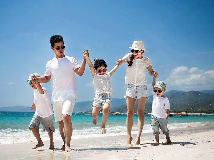 Hình ảnh về gia đình đông con