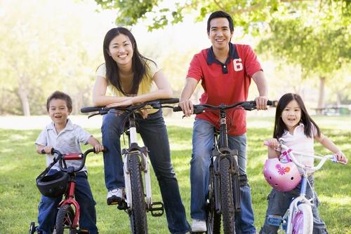 Hình ảnh về gia đình hạnh phúc