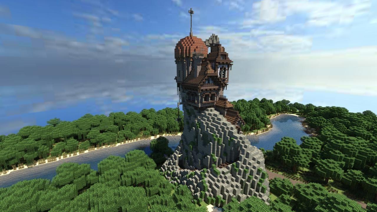 Hình nền 3D minecraft