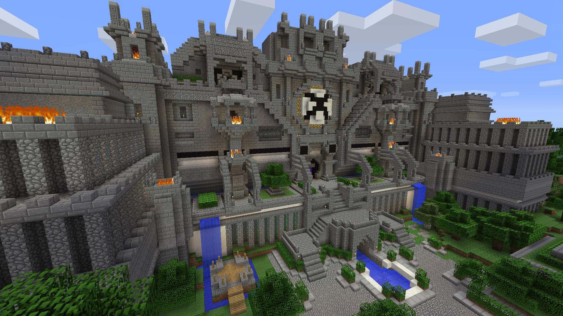 Hình nền minecraft 3D