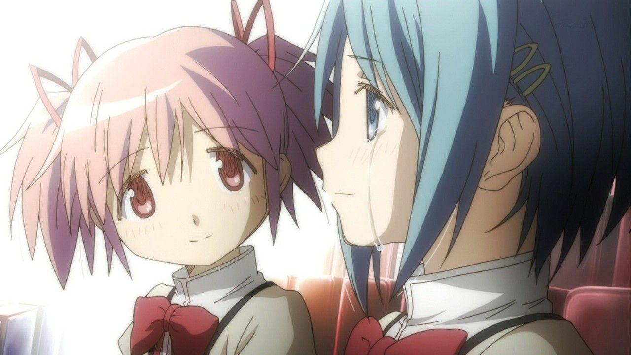 Ảnh anime girl buồn đáng yêu