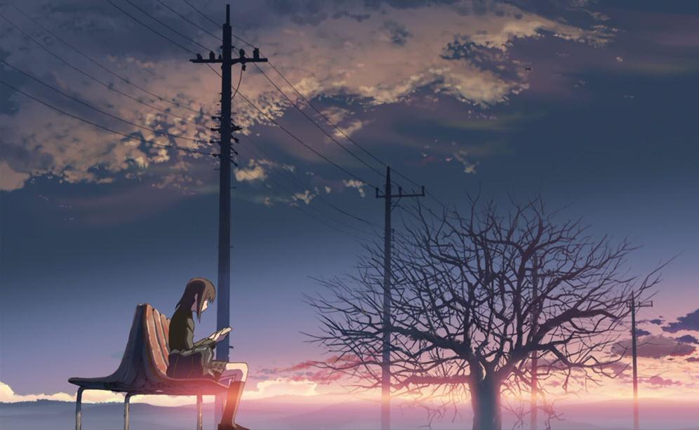 Ảnh anime girl tâm trạng