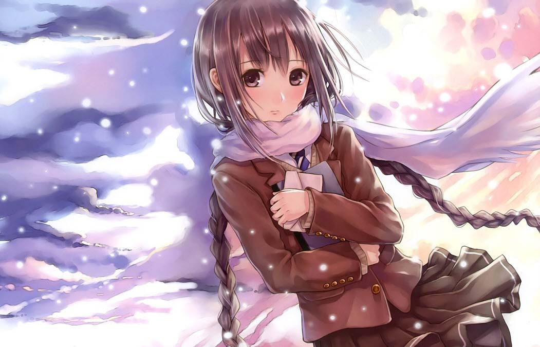 Ảnh anime girl