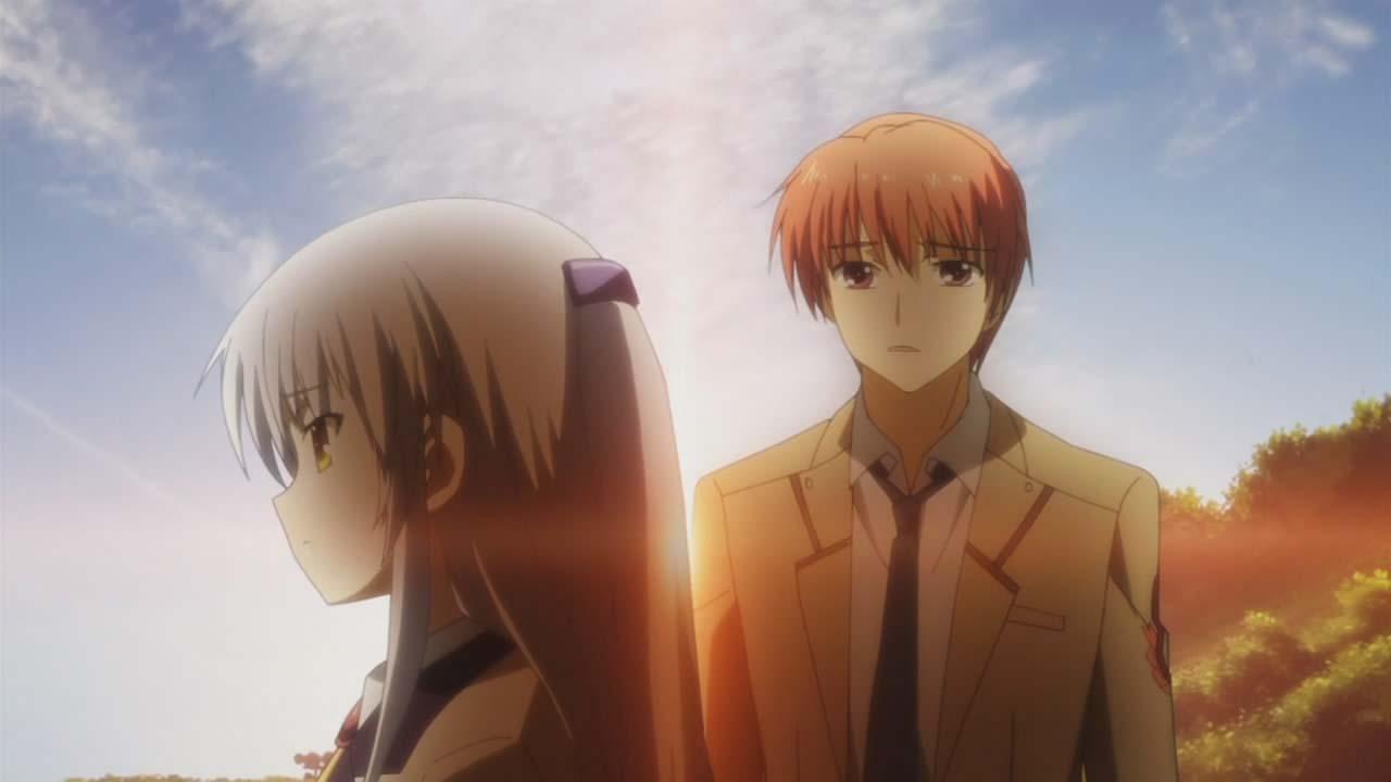 Ảnh đôi anime buồn
