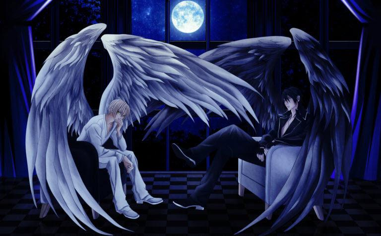 Hình ảnh anime boy thiên thần