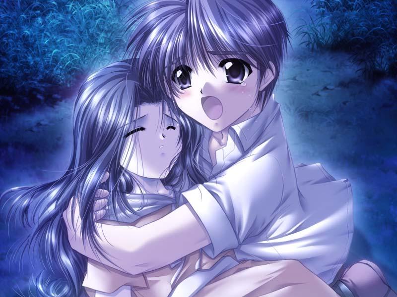 Hình ảnh anime buồn đáng yêu