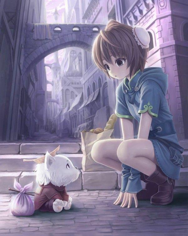 Hình ảnh anime buồn, dễ thương nhất