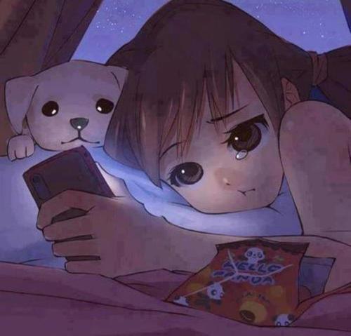 Hình ảnh anime buồn dễ thương