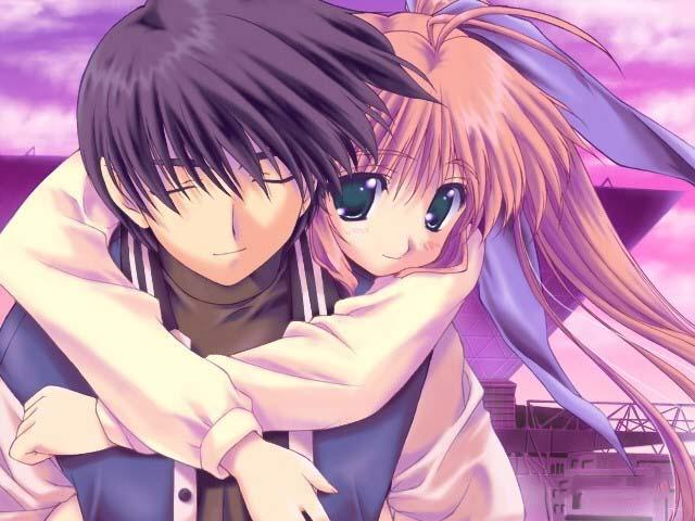 Hình ảnh anime đôi dễ thương