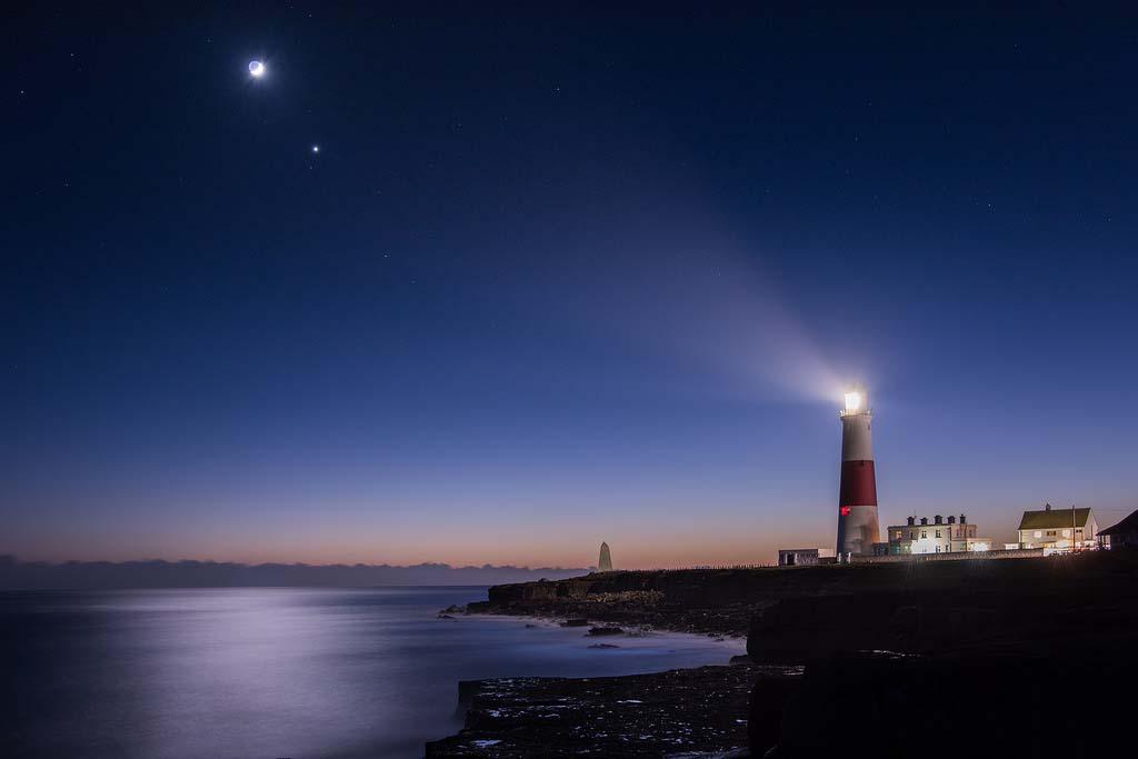 Hình ảnh biển đêm đẹp