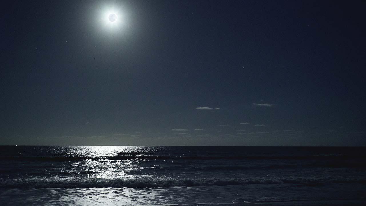 Hình ảnh biển đẹp về đêm