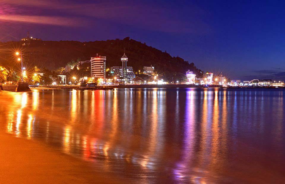 Hình ảnh biển Đồ Sơn đẹp về đêm