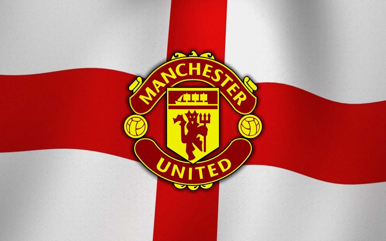 Ảnh cờ logo MU đẹp