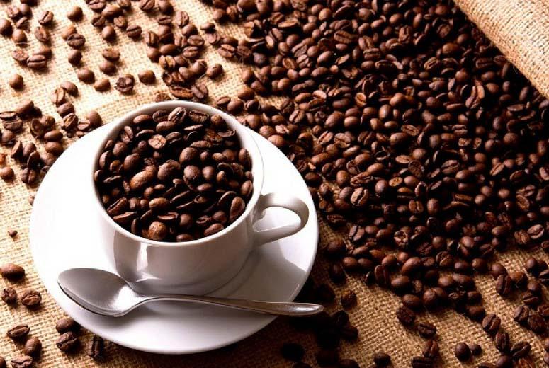 Ảnh đẹp ly cafe và hạt