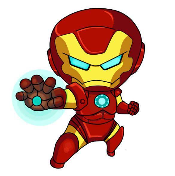Ảnh iron man chibi