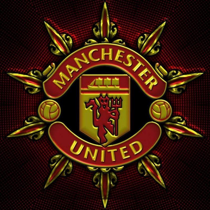 Ảnh logo Manchester United 3D đẹp