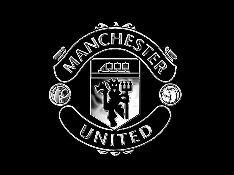 Ảnh logo Manchester United đen đẹp