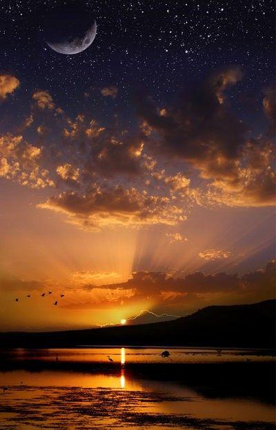 Hình ảnh bầu trời đẹp nhiều sao